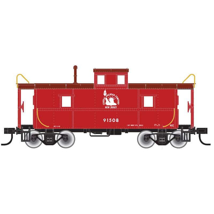 "Atlas O 2003060 - Trainman - C&O Cupola Caboose ""Jersey Central Lines"" (2-Rail)"