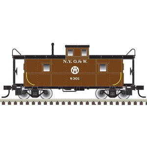 "Atlas O 2003062 - Trainman - C&O Cupola Caboose ""New York Ontario & Western"" (2-Rail)"