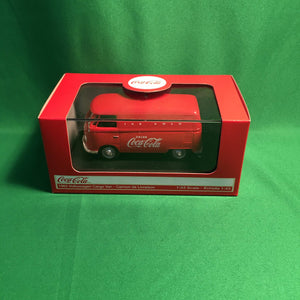 "Atlas O 25 000 016 - 1962 VW Cargo Van Cream ""Coca-Cola"" (Ice Cold) 1/43"