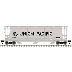 "Atlas O 3001224 - 3 Bay Cylindrical Hopper ""Union Pacific"""