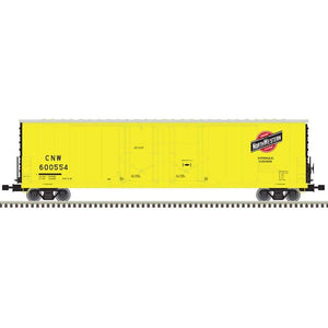 "Atlas O 3001331 - 53' Evans Double Plug Door Box Car ""Chicago & North Western"""