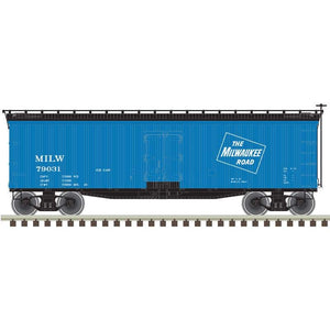 "Atlas O 3001564 - 40' Wood Reefer ""Milwaukee Road Ice Car"""