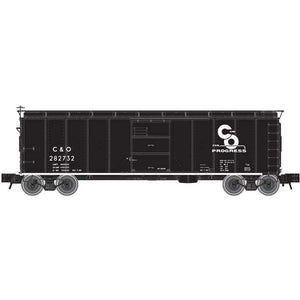 "Atlas O 3001917 - X-29 40' Steel Box Car ""Chesapeake & Ohio"""