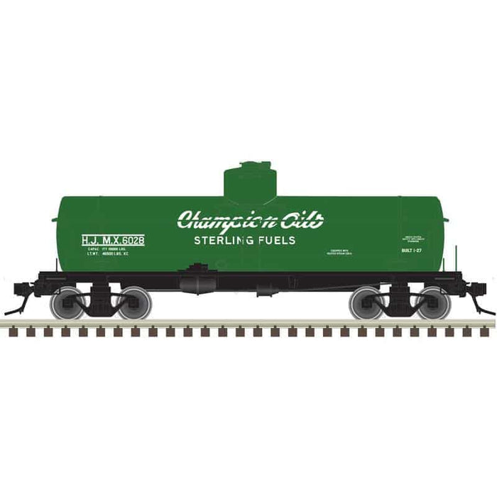 "Atlas O 3003838 - ACF 8,000 Gallon Tank Car ""Champion Oils / Sterling Fuels"""