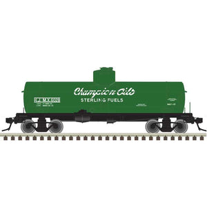 "Atlas O 3004838 - ACF 8,000 Gallon Tank Car ""Champion Oils / Sterling Fuels"""