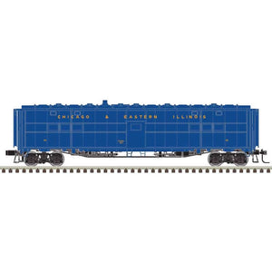 "Atlas O 3007724 - Express Box Car - Rebuilt Troop Sleeper ""Chicago & Eastern Illinois"""