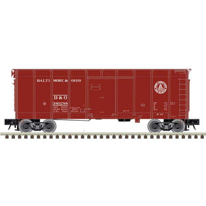 "Atlas O 3007905 - 40' Wagon Top Box Car ""Baltimore & Ohio"""