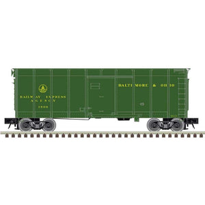 "Atlas O 3007906 - 40' Wagon Top Box Car ""Baltimore & Ohio"" (REA)"