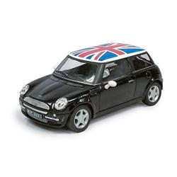 Atlas O 3009930 - Mini w/ UK Flag (Black) 1/43