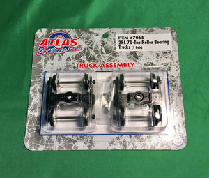 Atlas O 7065 - 70-Ton Roller Bearing Trucks (2-Rail)