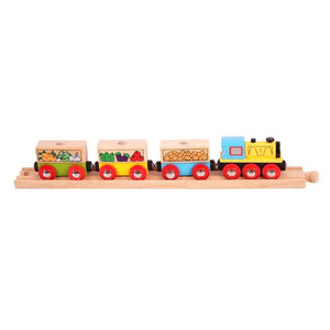 BigJigs BJT180 - Fruit & Veg Train