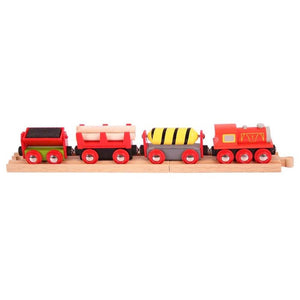 BigJigs BJT183 - Supplies Train