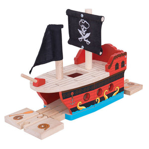 BigJigs BJT258 - Pirate Galleon