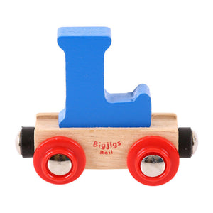 BigJigs BR112 - Rail Name Letter L (Colors Vary)