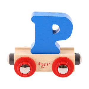 BigJigs BR116 - Rail Name Letter P (Colors Vary)