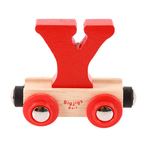 BigJigs BR125 - Rail Name Letter Y (Colors Vary)
