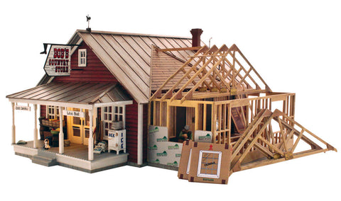 Woodland Scenics BR5845 - Country Store Expansion (O Scale)