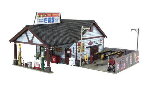Woodland Scenics BR5849 - Ethyl's Gas & Service