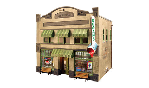 Woodland Scenics BR5853 - Dugan's Paint Store (O Scale)