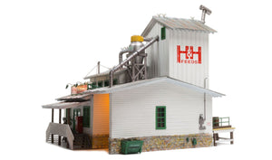 Woodland Scenics BR5859 - H&H Feed Mill