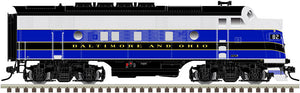 "Atlas O 30136006 - Master - TMCC - EMD F3A Phase 2 Early ""Baltimore & Ohio"" (Powered)"