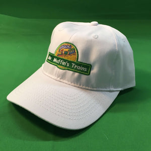 Baseball Cap - Mr Muffin's Trains (White)