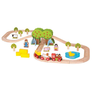 BigJigs BJT036 - Farm Train Set