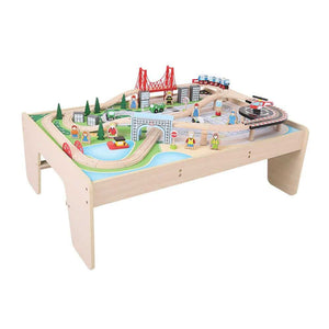 BigJigs BJT045 - City Train Set & Table