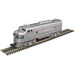 "Atlas O 1640-4 - California Zephyr - EMD F3A Phase 2 Early ""Burlington"" (Powered)"
