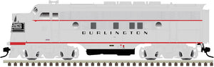 "Atlas O 1640-4 - California Zephyr - EMD F3A Phase 2 Early ""Burlington"" #9962C (Powered)"
