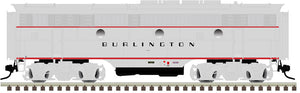 "Atlas O 1641-3 - California Zephyr - EMD F3B Phase 2 Early ""Burlington"" (Powered)"