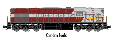 "Atlas O 20030027 - Trainman - TMCC - RSD-7/15 Locomotive ""Canadian Pacific"" #8921"