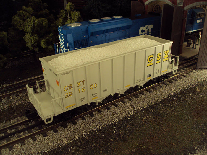 "MTH 20-90887 - Rapid Discharge Hopper Car Set ""CSX"" (6-Car)"