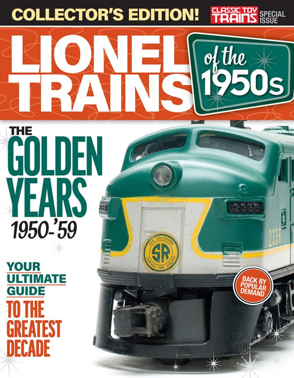 Classic Toy Trains - Magazine - Lionel Trains of the 1950s - Special 2019