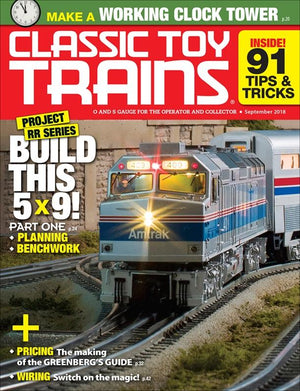 Classic Toy Trains - Magazine - Vol.31 - Issue 06 - Sept. 2018