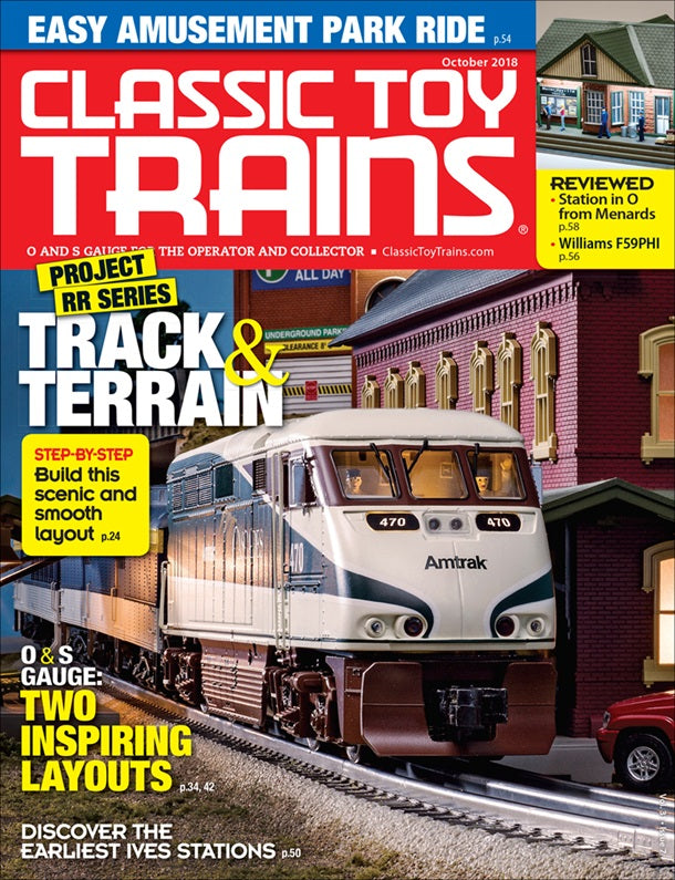Classic Toy Trains - Magazine - Vol.31 - Issue 07 - Oct. 2018