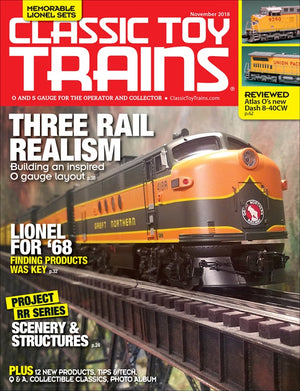 Classic Toy Trains - Magazine - Vol.31 - Issue 08 - Nov. 2018
