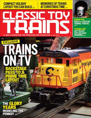 Classic Toy Trains - Magazine - Vol.32 - Issue 01 - Jan. 2019