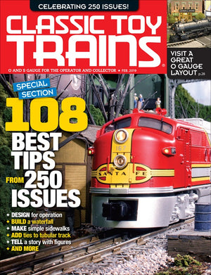 Classic Toy Trains - Magazine - Vol.32 - Issue 02 - Feb. 2019