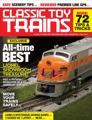 Classic Toy Trains - Magazine - Vol.32 - Issue 04 - May 2019