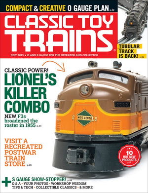 Classic Toy Trains - Magazine - Vol.32 - Issue 05 - July 2019