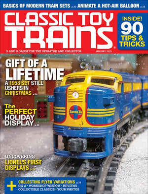 Classic Toy Trains - Magazine - Vol.33 - Issue 01 - Jan. 2020
