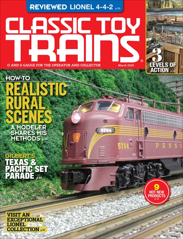 Classic Toy Trains - Magazine - Vol.33 - Issue 03 - March 2020
