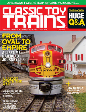 Classic Toy Trains - Magazine - Vol.33 - Issue 05 - July 2020