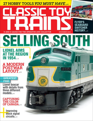 Classic Toy Trains - Magazine - Vol.33 - Issue 07 - Nov. 2020
