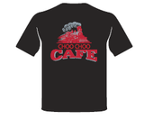 "Muffin Ware - ""The Choo Choo Cafe"" Adult T-Shirt"