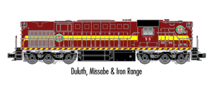 "Atlas O 20020021 - Trainman - RSD-7/15 Locomotive ""Duluth, Missabe & Iron Range"" #52"