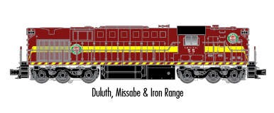 "Atlas O 20020022 - Trainman - RSD-7/15 Locomotive ""Duluth, Missabe & Iron Range"" #55"
