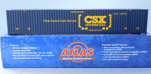 "Atlas O 3006310 - Jindo 53' Container ""CSX"" (How Tomorrow Moves)"