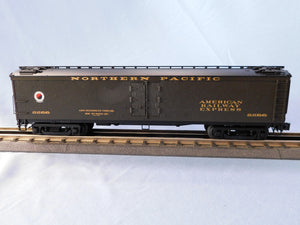 "Atlas O 3001028 - General American 53'6"" Wood Express Reefer Car ""Northern Pacific"""